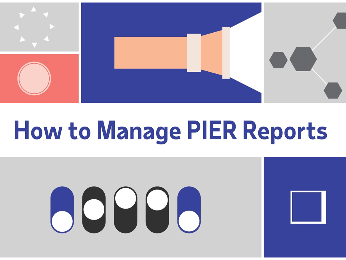 ADP - How To Manage PIER Reports