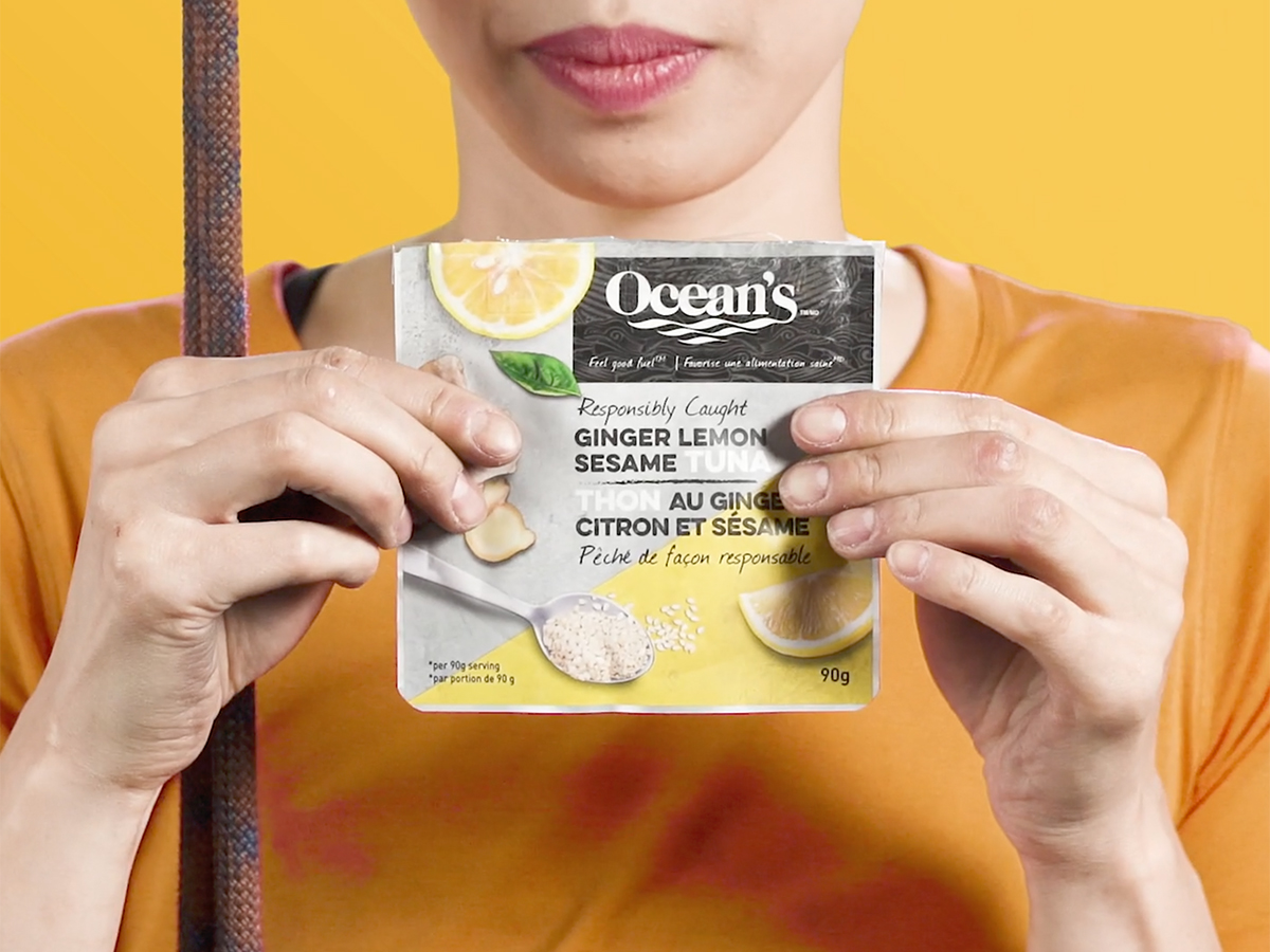 Oceans - Tuna Pouches - Ginger Lemon